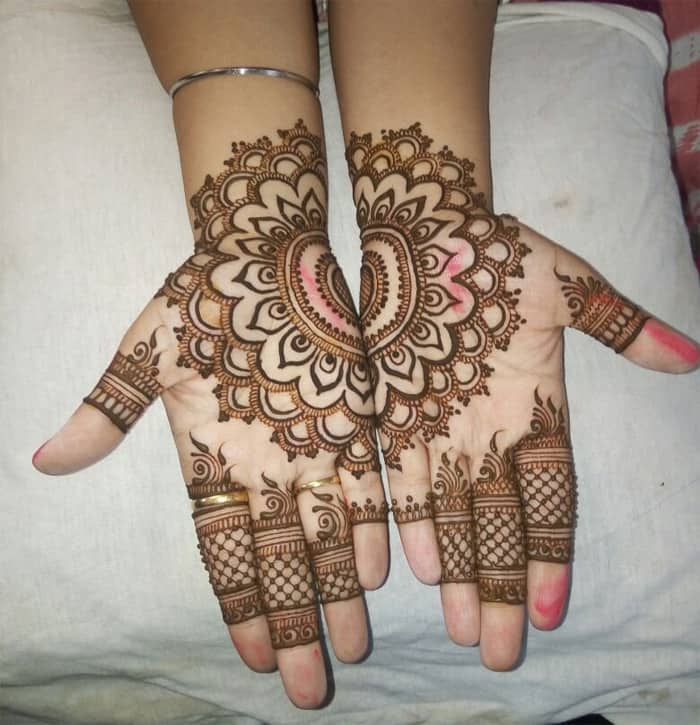 Home Design Ideas Hindi: 30 Latest Simple Indian Mehndi Designs Images