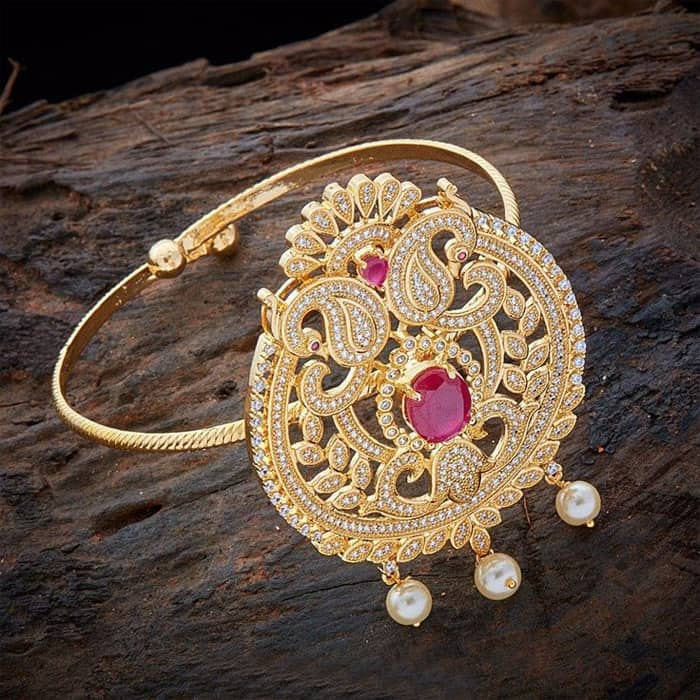 Gold Plated Bajuband Design Ideas Pictures Sheideas