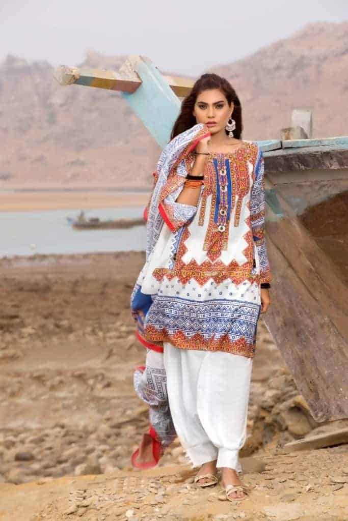 2aa3bf094f 30 Latest Gul Ahmed Eid Collection 2019 – SheIdeas