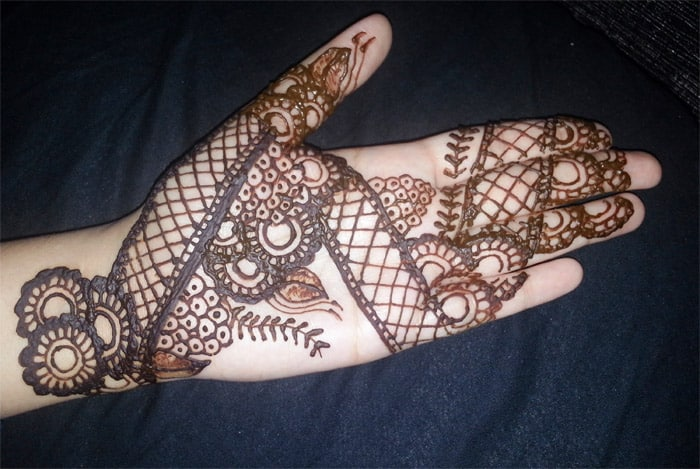 Simple Indian Mehndi Designs