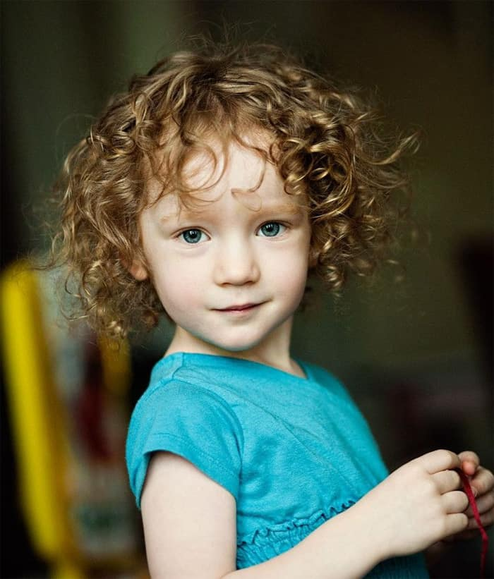 Little Girl Short Curly Hairstyles