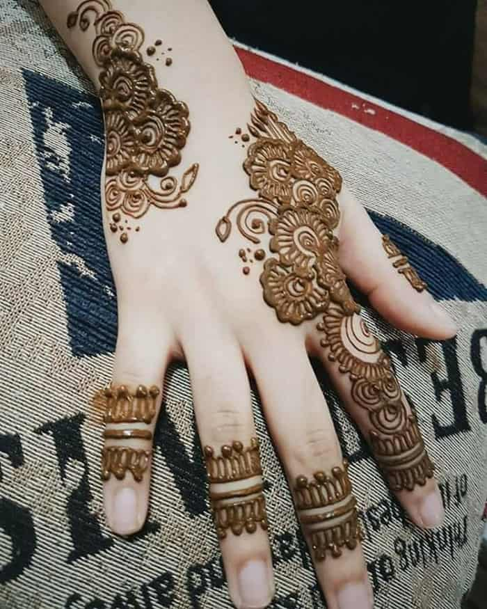 30 Latest Simple Indian Mehndi Designs Images Sheideas