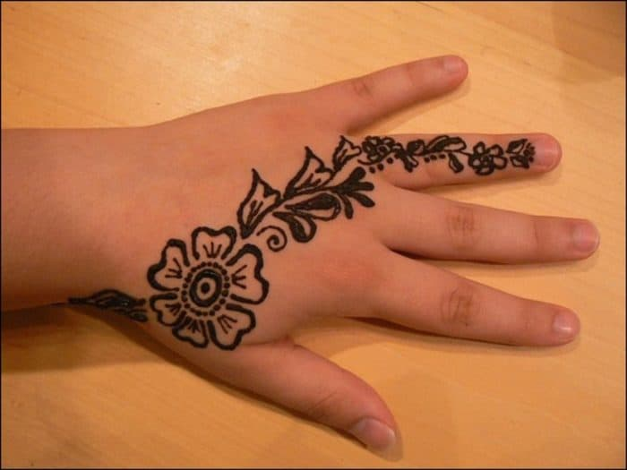 25 Simple Back Hand Mehndi Designs 2019 Sheideas