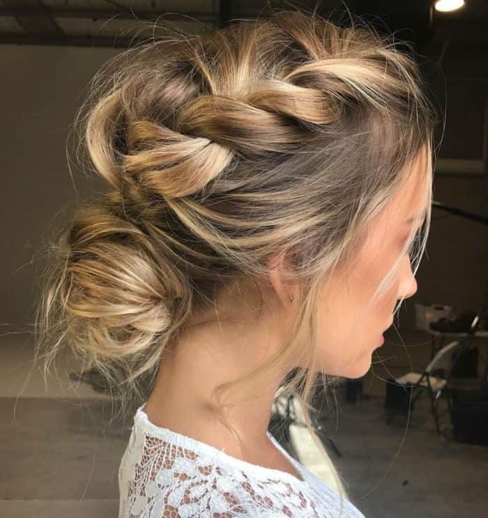 Simple Wedding Hair Ideas: 25 Beautiful Wedding Guest Hairstyle Ideas 2019