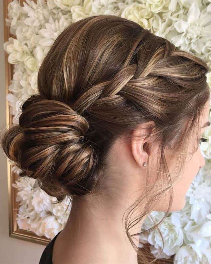 Updo Hairstyles For Wedding Guests: 25 Beautiful Wedding Guest Hairstyle Ideas 2019