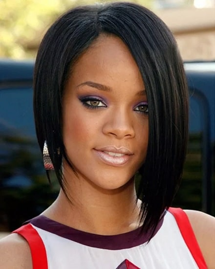 easy 27 piece angled bob hairstyle