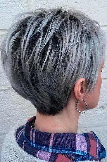 pixie cut for elderly women