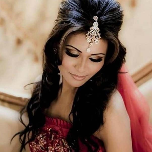 25 Stunning Hairstyles With Indian Gowns For 2019 Sheideas