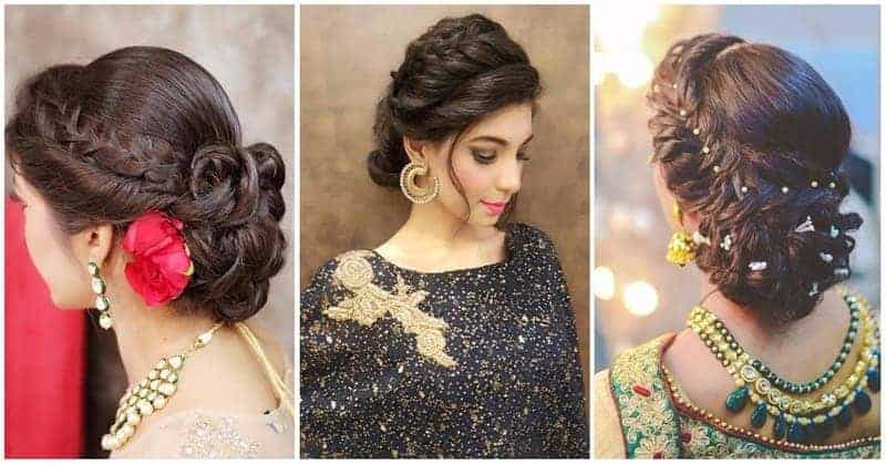 Top 20 Wedding Hairstyles For Medium Hair: 20 Indian Party Hairstyles: Attend Any Wedding Or Function