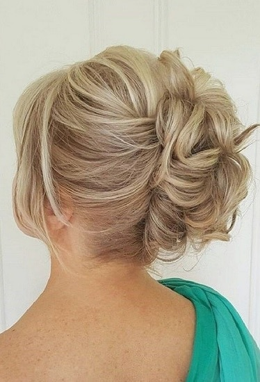upswept mother of bride hairstyles