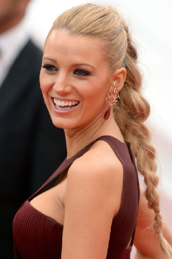 office hairstyle with Ponytail Braids