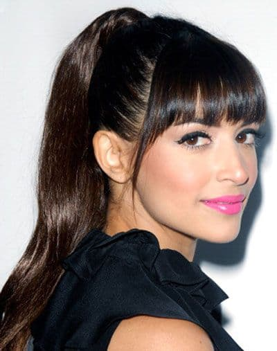 Fringed ponytail for women