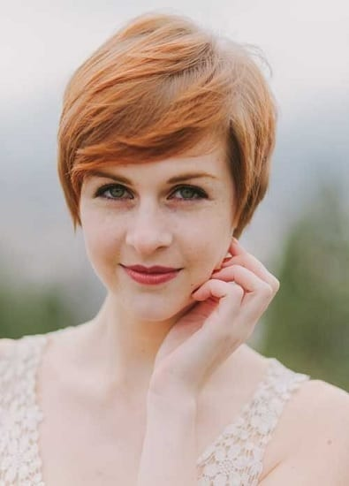 pixie cut for women with thick hair