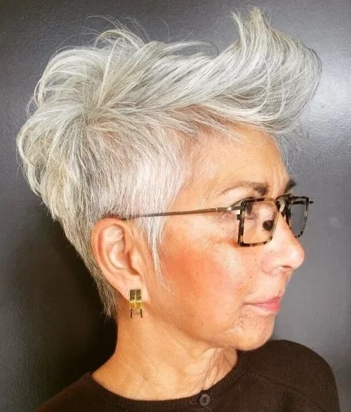 textured spike for women over 60