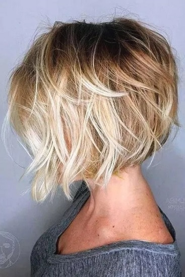 short tousled haircut for women