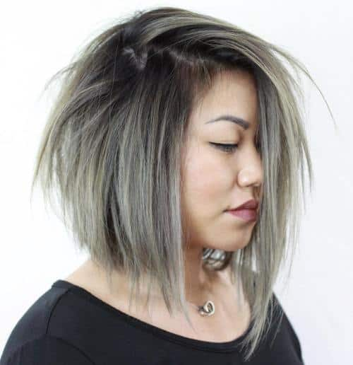 plus size hairstyle