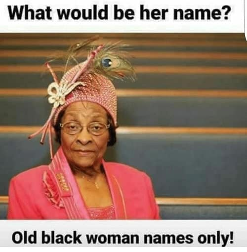 hilarious black woman meme