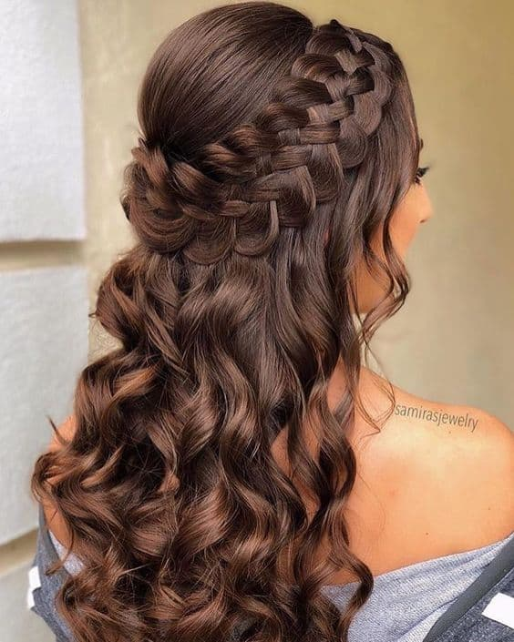Quinceanera Hairstyles: Top 15 Dama Hairstyles For Quinceaneras [December.2019