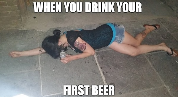 memes for drunk girls