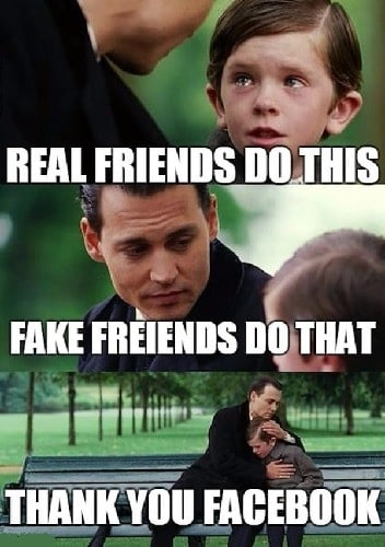 funny memes about fake friends