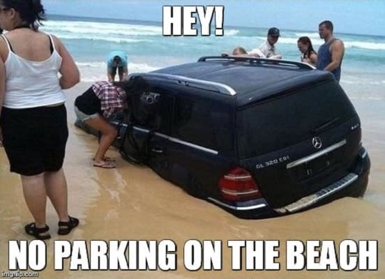 funny beach memes to laugh