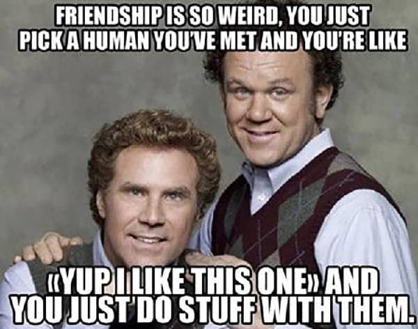 funny meme about best friend