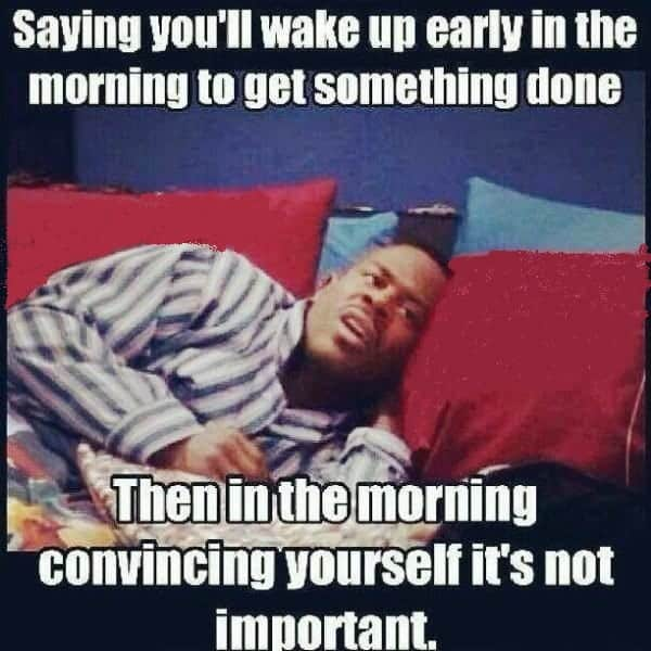 funny memes about good morning