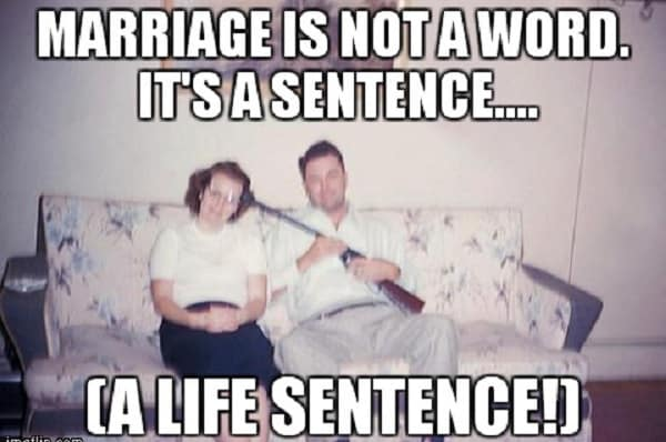 funny memes for marriage