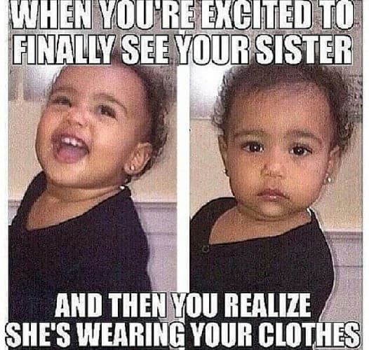 hilarious memes for sister