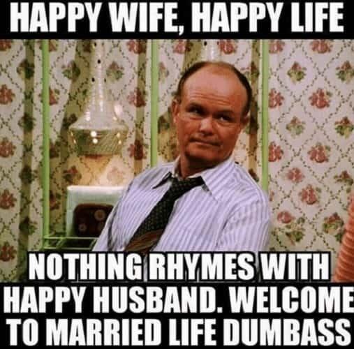 funny wife meme from husband