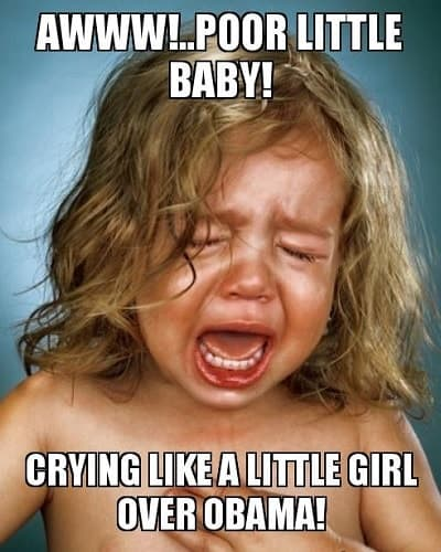 memes about girl crying