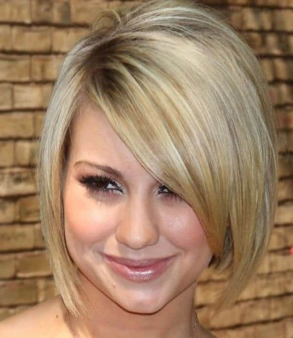 women heart shaped faces with bob cut