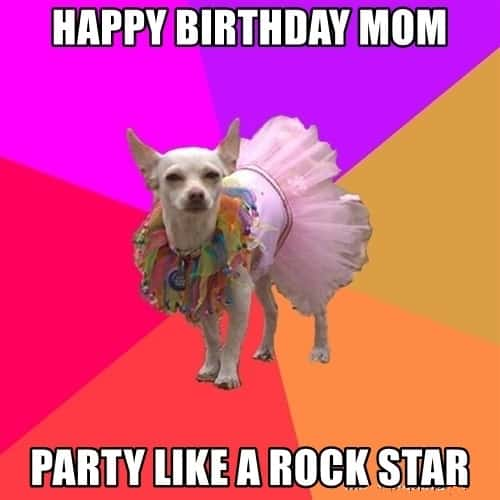 shareable birthday memes for mom
