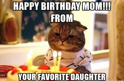 happy birthday meme for mom