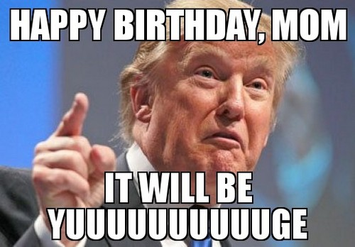 funny birthday meme for mom