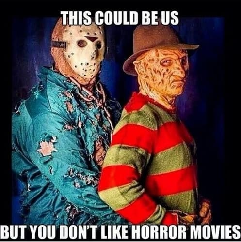 fearful horror movie memes