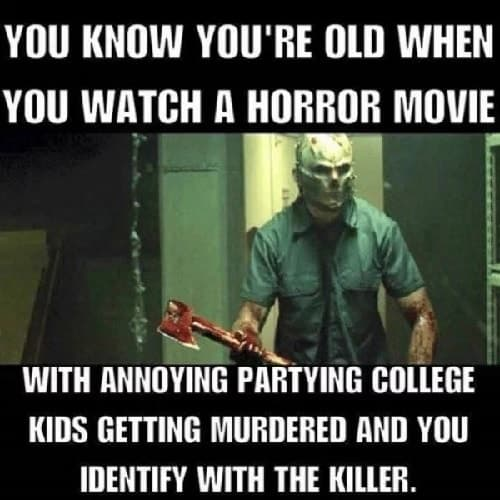 horror movie meme