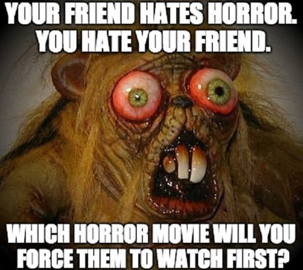 horror movie memes