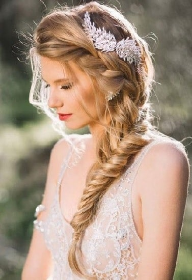 French Milkmaid Braid for long hair