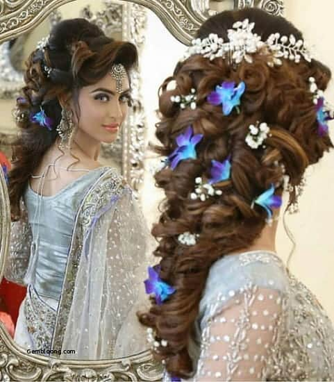 20 Best Indian Wedding Hairstyles For Long Hair To Shine Sheideas