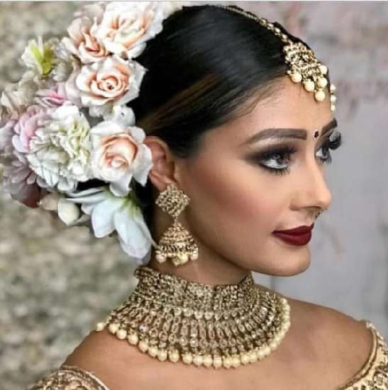 20 Best Indian Wedding Hairstyles For Long Hair To Shine