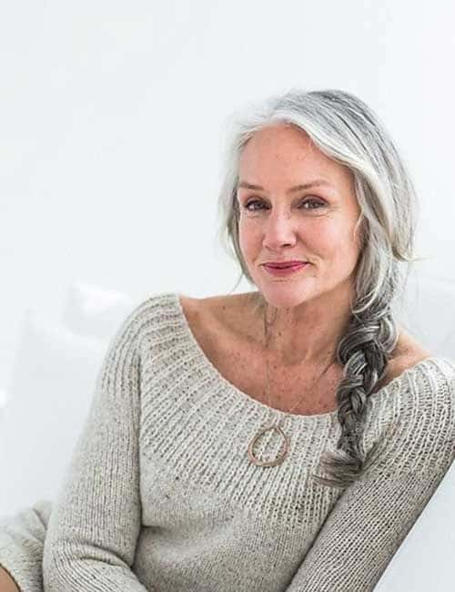 long hairstyles for 50 year old women