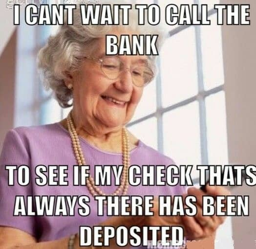 old woman memes to relate