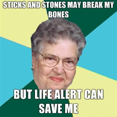 laughable old woman memes