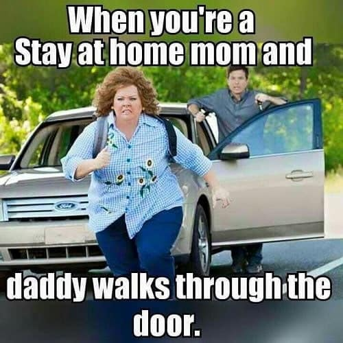 funny stay at home mom meme