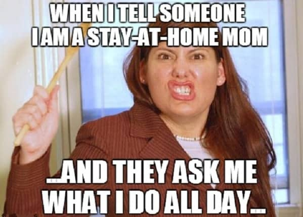 hilarious stay at home mom memes