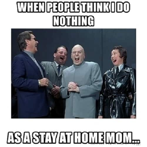 stay at home mom memes