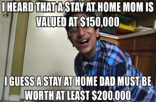 hilarious stay at home mom meme
