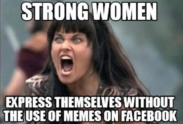 funny strong woman memes