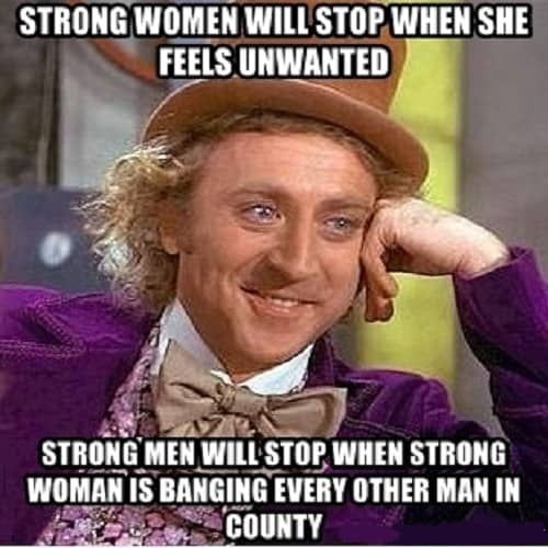 funny memes for strong woman